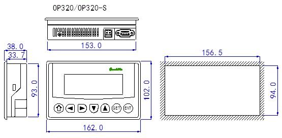 信捷-文本显示器