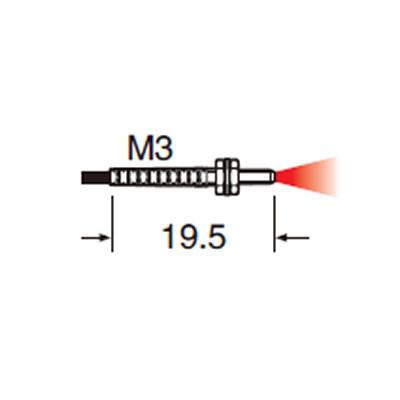 松下螺纹型光纤  FD系列